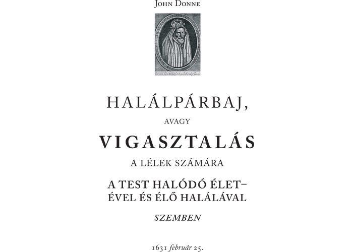 John Donne Halálpárbaj (fordítás)